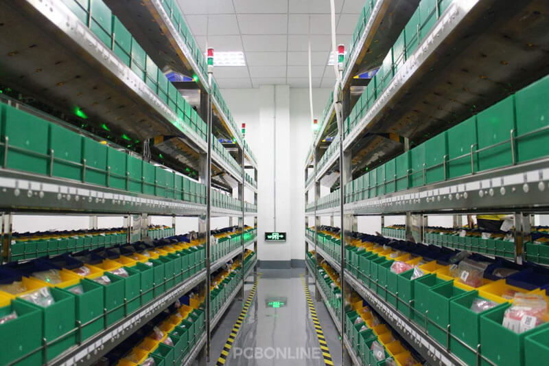 electronic component warehouse