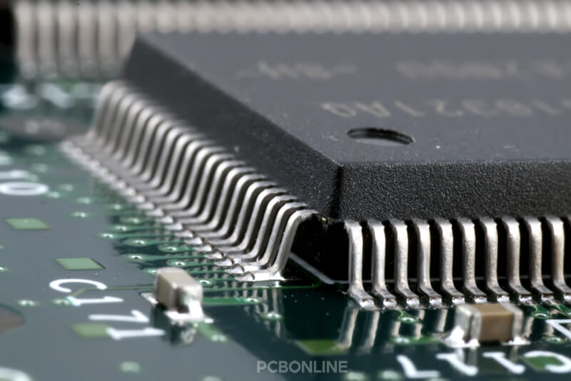 fine pitch IC for fine pitch PCB assembly